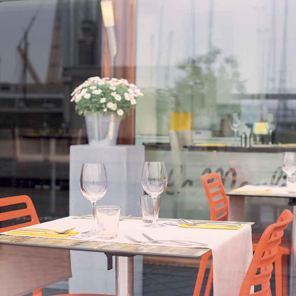 La Moulinière table terrasse